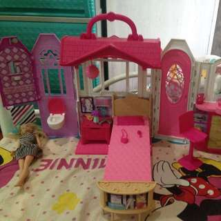 barbie with house