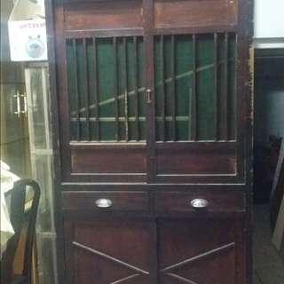 古董 檜木菜櫥
