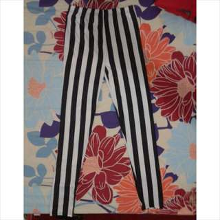 Legging / Celana Blaster (stripes)