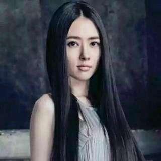 FreePostage Mid Separate Bang Long Straight Hair Wig + FOC Hair Net