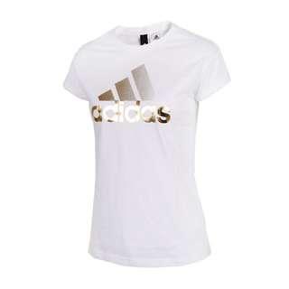 Adidas 白 短袖上衣