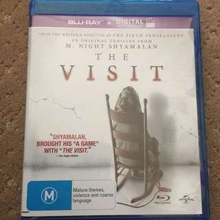 The Visit Blu Ray