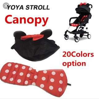 Cabin Stroller Canopy& Cushion