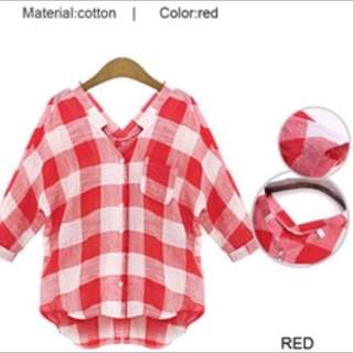 Red Blouse (Brand New)