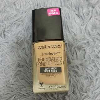 Wet n Wild粉底液#soft beige
