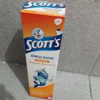 SCOTT'S emulsion minyak ikan