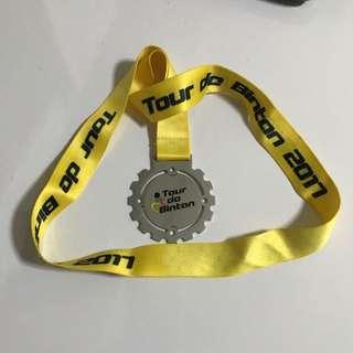 Tour De Bintan 2017 Medal