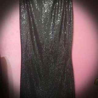 Pre Love Sequin Skirt And Prelove Pinnafore
