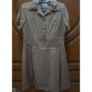 Mineola Dress Brown