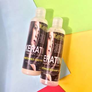 Keratin Therapy System Maintenance Shampoo & Conditioner