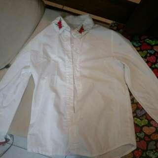 玫瑰白襯衫 #雙11女裝出清