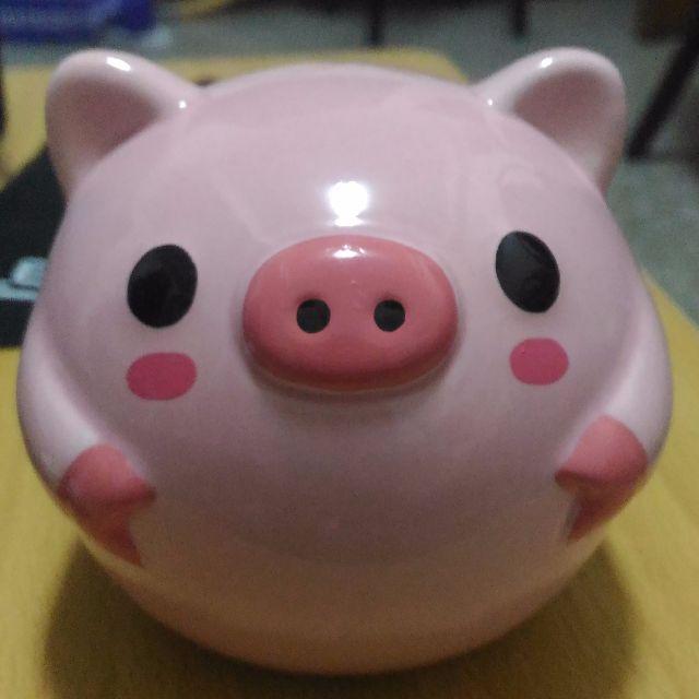 粉紅小豬撲滿 (存錢筒)
