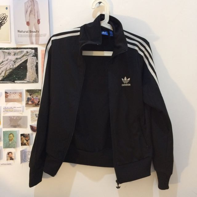 Adidas Originals Women's Track Jacket in Black