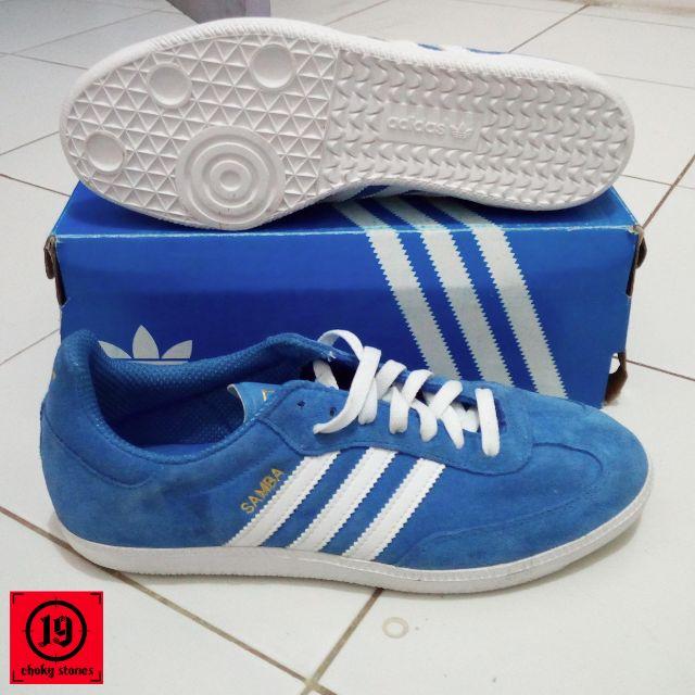 Adidas Samba Classic Blue Original d3a92d3f5