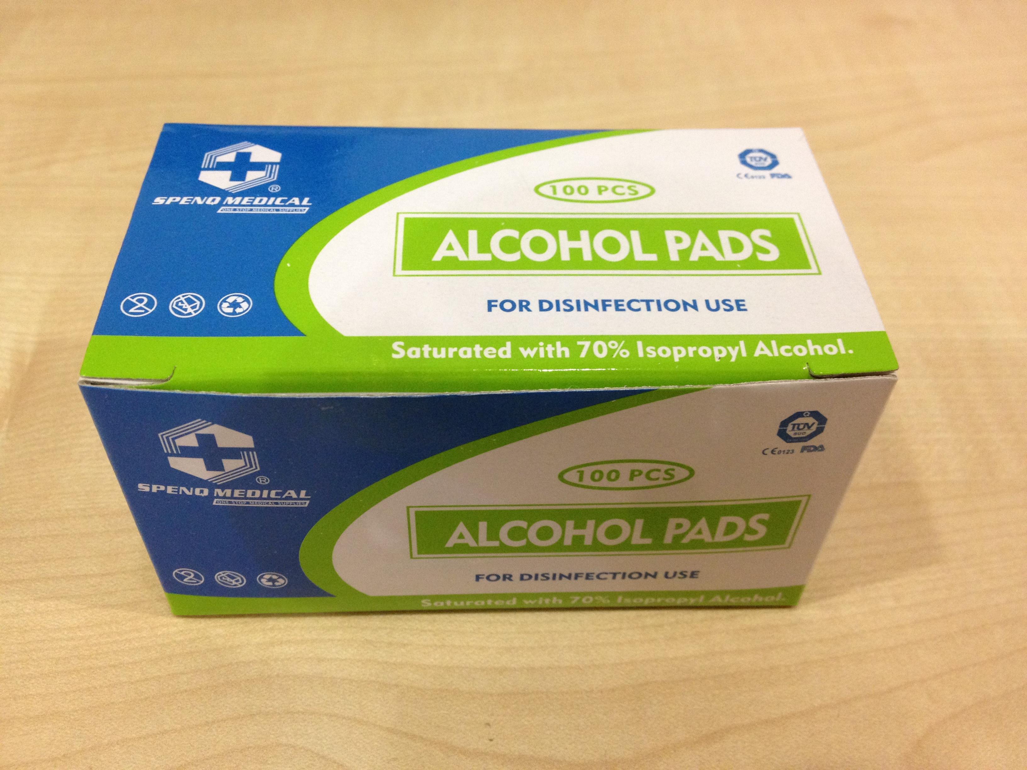 Alcohol Swab Pads Health Beauty Skin Bath Body On Carousell Alkohol Photo