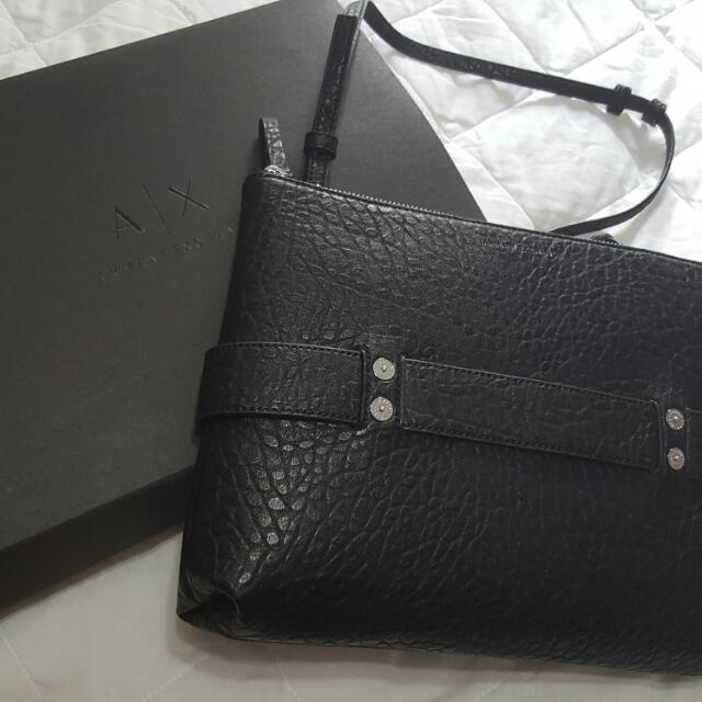 9eedd07b79db Authentic and Brand New Armani Exchange Sling Bag.