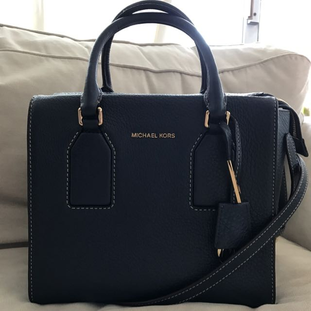 Authentic- Michael Kors Selby Medium Satchel/ Handbag
