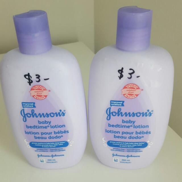 Baby bedtime lotion 2bottles 266ml each