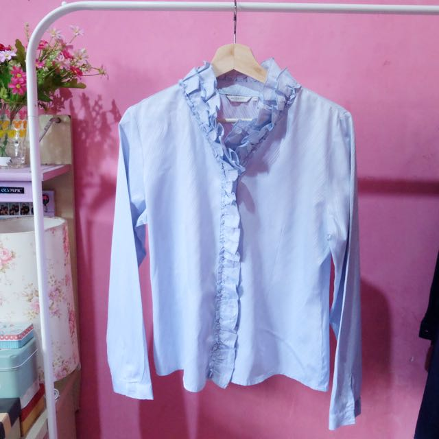 Baby Blue Shirt (brand : Accent)