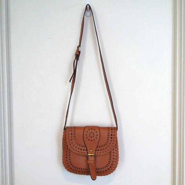 Bag With Cut Outs