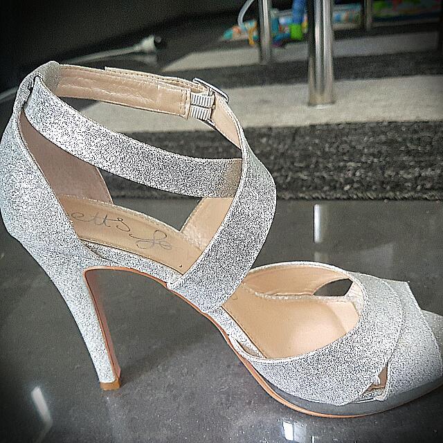 Glitter Beautiful FashionShoes Carousell Silver On High HeelsWomen's thQCrsd
