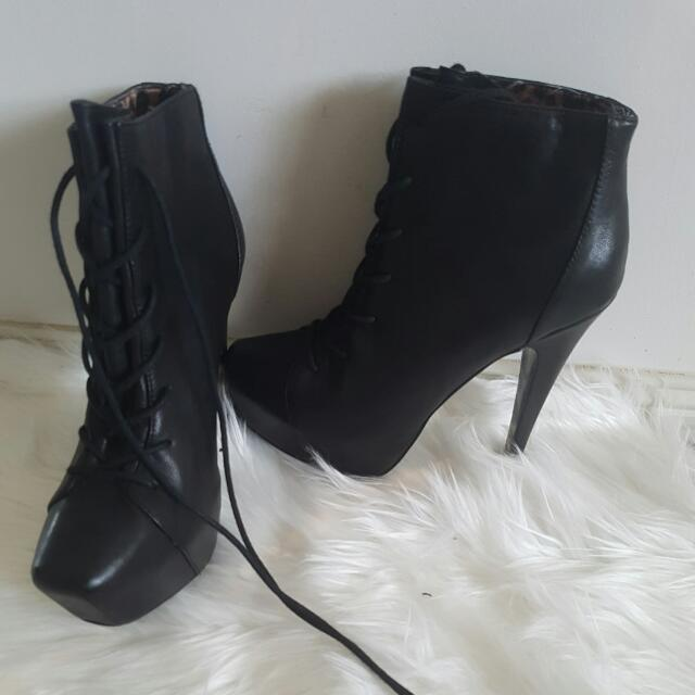 Betsey Johnson Boot Heels