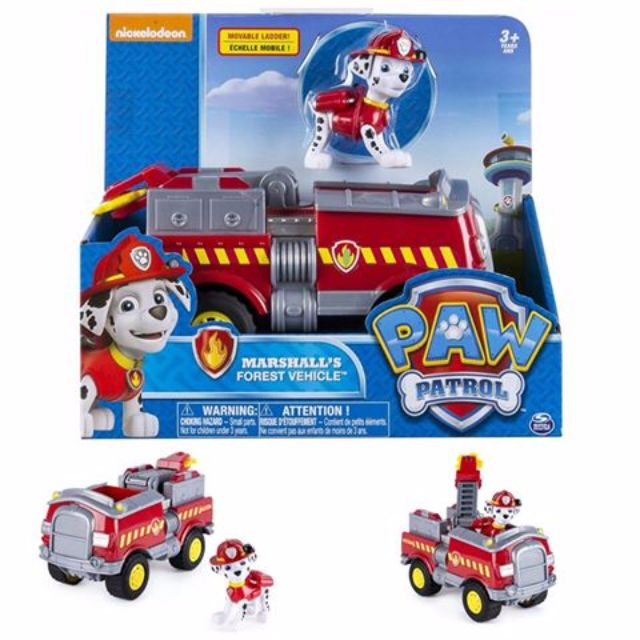 BNIB: Paw Patrol - Marshall's Forest Fire Truck Vehicle