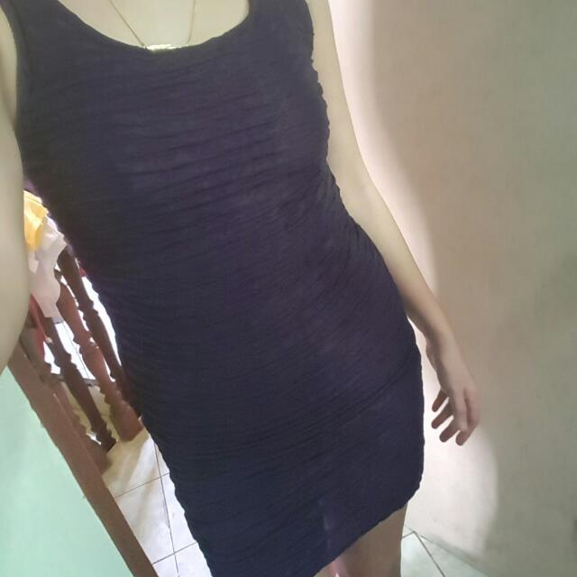 Bodycon Dress (Dark Violet)
