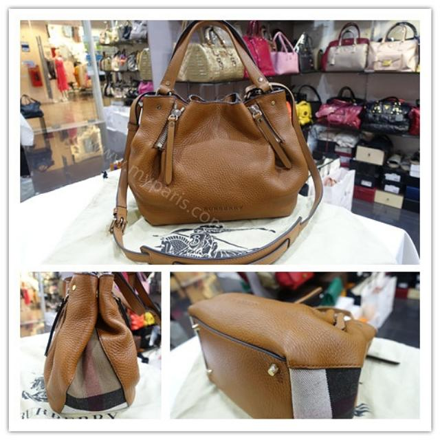 d124c25139 Burberry Small Maidstone Peek Canvas Check Crossbody Bag, Luxury, Bags &  Wallets on Carousell