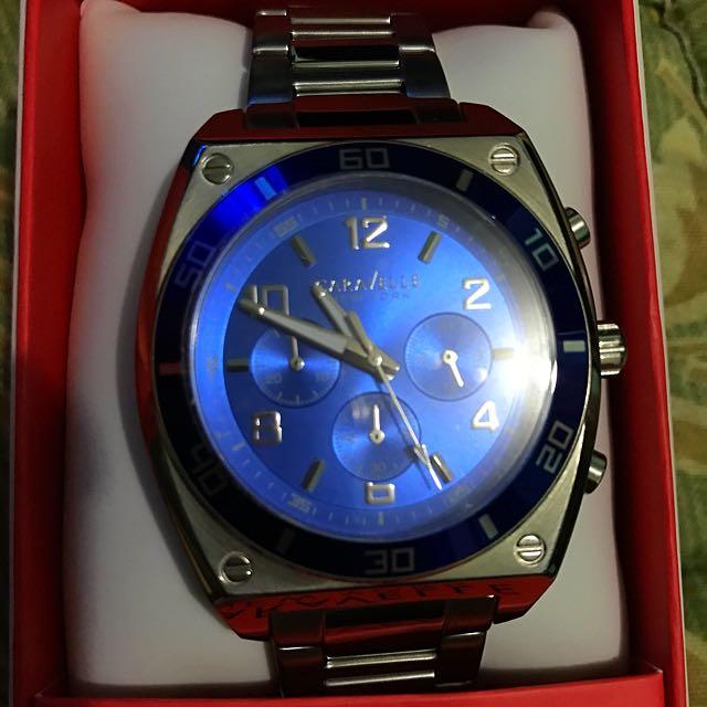 Caravelle New York Steel Watch