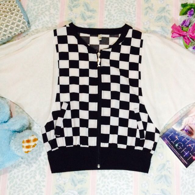 Checkerboard Long Sleeves 💖