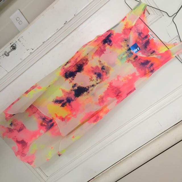 Colourful Drapey Top