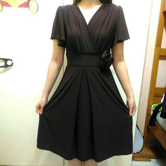 Deep Brown Dress