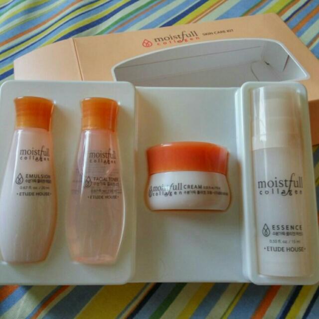 Etude Moistfull Collagen Skin Care Kit
