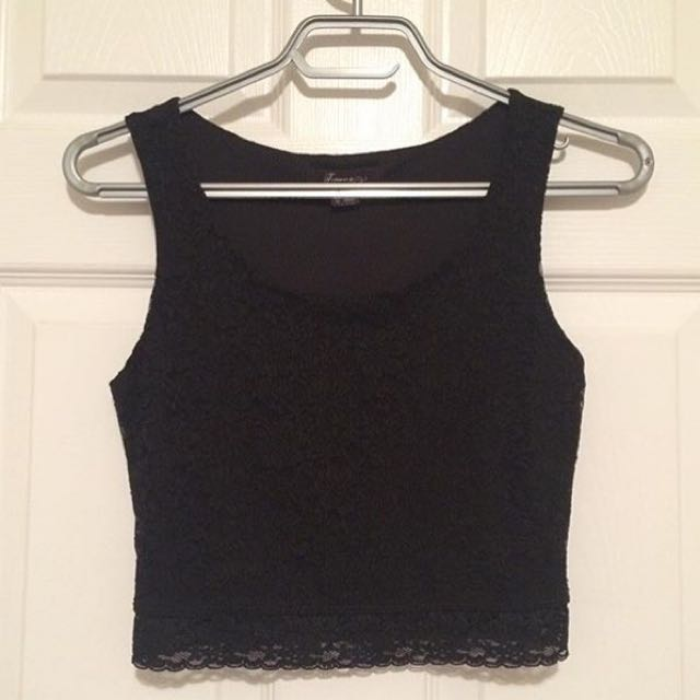 Forever 21 Lace Tank