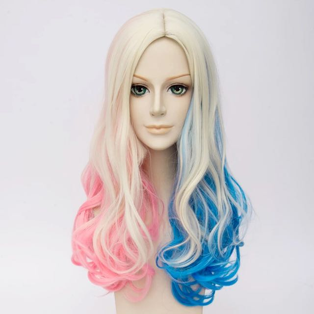 Harley Quinn Wig Premium Quality Suicide Squad Cosplay