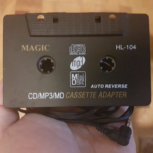 FREE SHIPPING Magic CD/MP3/MD to Cassette Adapter HL-104