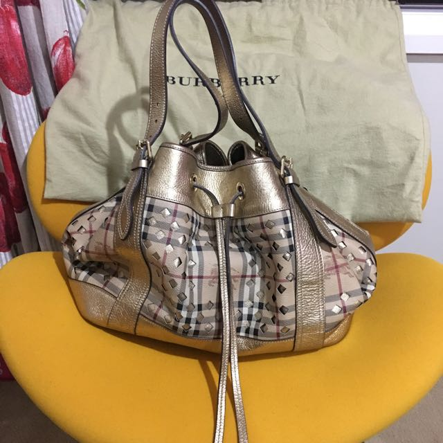 Genuine Burberry Tote