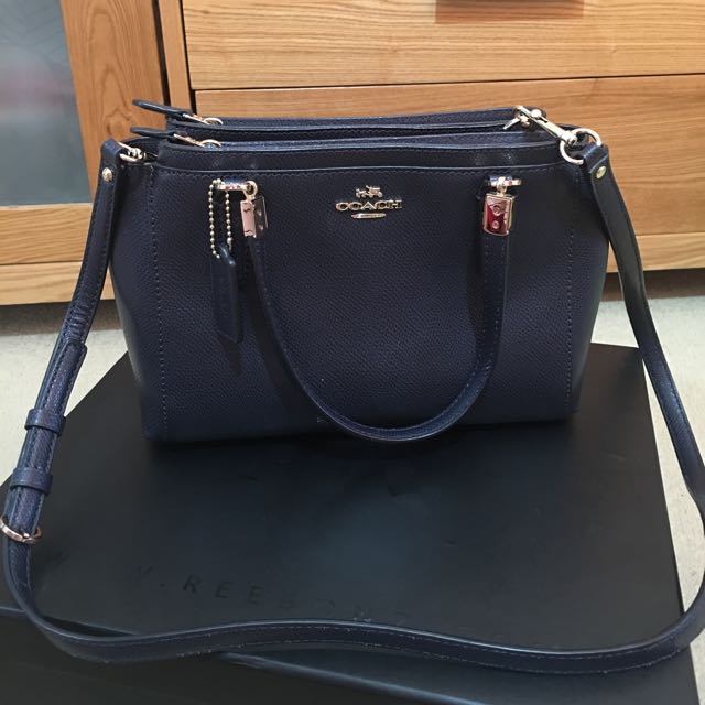 Genuine Coach Mini Christie satchel