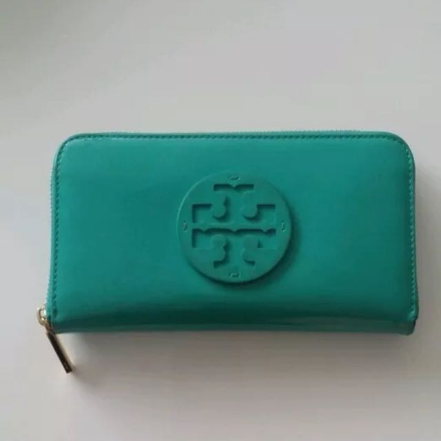 Genuine Tory Burch Zip Wallet