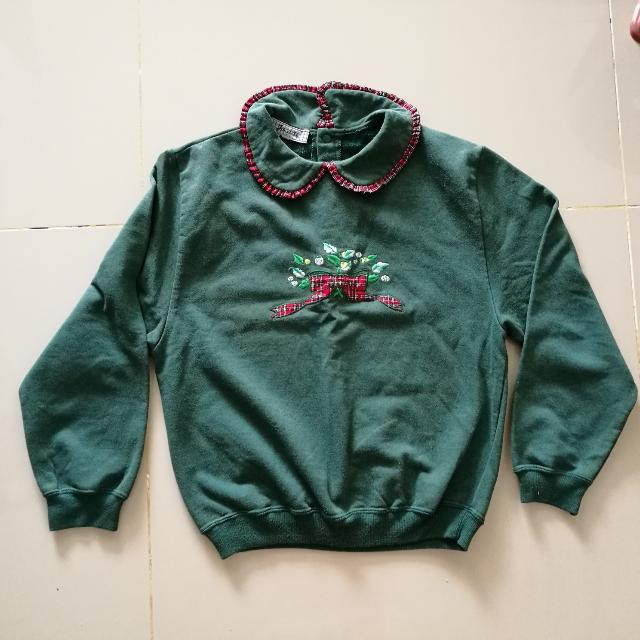 Made In Portugal - Girl's Green Sweater