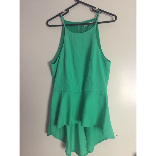 New Green Valleygirl Top