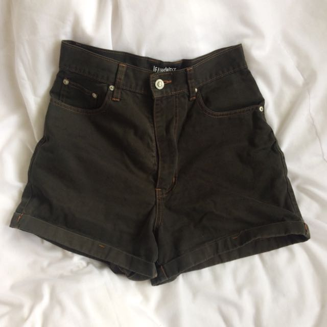 High Waisted Mom Shorts