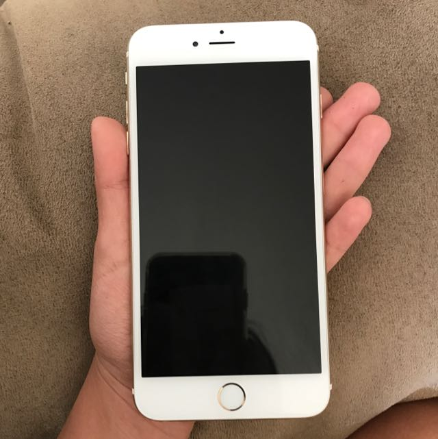 iPhone 6 Plus Gold  64gb w/ box and charger