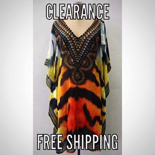 Kaftan Brand New Long
