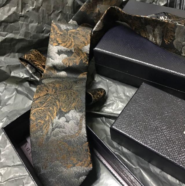 KENZO 手打領帶 (細版)