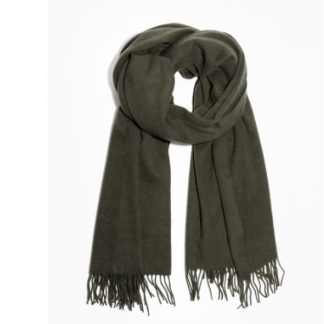 Winter scarf from Mango