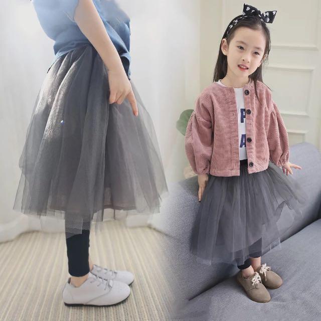4e301e2120 Knee Length Tutu Skirt With Leggings, Babies & Kids, Girls' Apparel on  Carousell