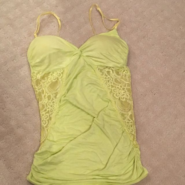 Lace Side Cami Size S