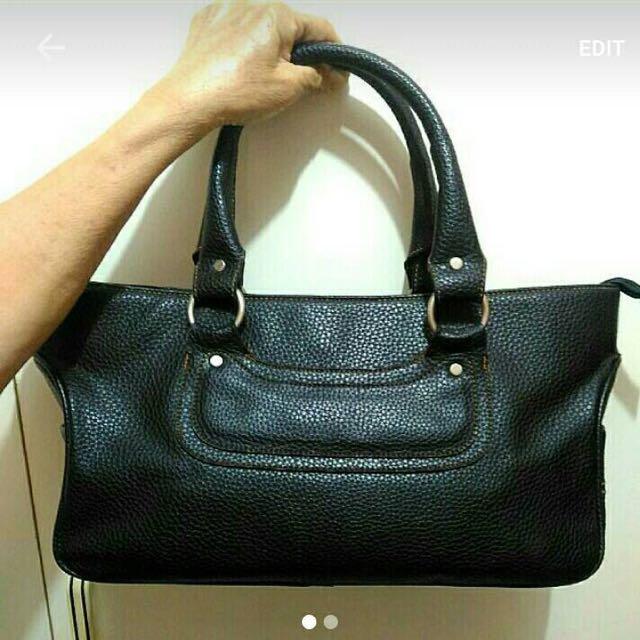 Leather Rectangle Handbag